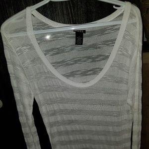 Rue 21 see through long sleeved shirt